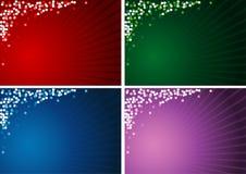 jul för bakgrund 4x vektor illustrationer