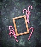 jul för bakgrundsgodisrotting Arkivfoton