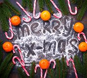 jul för bakgrundsgodisrotting Royaltyfria Foton