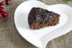 Jul för chokladkaka royaltyfria foton