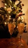 Jul för vinexponeringsglas Arkivfoton