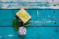Jul gåva eller gåva Royaltyfri Bild
