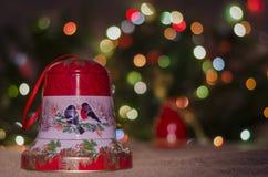 Jul garnering, år som är nytt, ferie, dekor som är utsmyckad Royaltyfri Foto