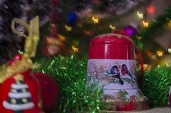 Jul garnering, år som är nytt, ferie, dekor som är utsmyckad Royaltyfria Foton