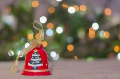 Jul garnering, år som är nytt, ferie, dekor som är utsmyckad Arkivbilder