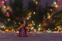 Jul garnering, år som är nytt, ferie, dekor som är utsmyckad Arkivfoton