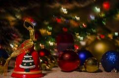 Jul garnering, år som är nytt, ferie, dekor som är utsmyckad Arkivbild