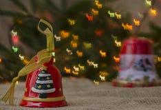 Jul garnering, år som är nytt, ferie, dekor som är utsmyckad Royaltyfria Bilder