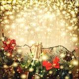 Jul garnering, bakgrund, ferie, nytt år royaltyfri foto