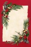 Jul gör sammandrag bakgrundsgränsen Arkivfoto