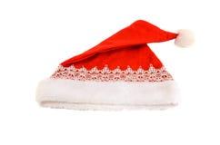 Jul hatt, Santa Claus hatt Royaltyfri Foto