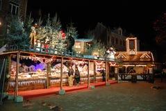 Jul i Bryssel Arkivfoton