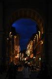 Jul i Florence Arkivfoto