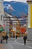 Jul i Lienz, Österrike Fotografering för Bildbyråer