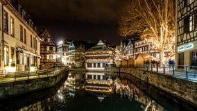 Jul i lilla Frankrike Fotografering för Bildbyråer