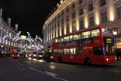 Jul i London Royaltyfri Bild