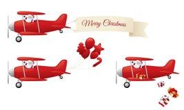 Jul i luften vektor illustrationer