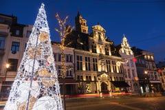 Jul i Mechelen royaltyfri bild
