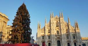 Jul i Milan Arkivfoton