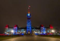 Jul i Ottawa Royaltyfri Fotografi