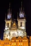 Jul i Prague, Tjeckien royaltyfri fotografi