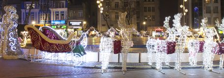 Jul i Varna Arkivfoto