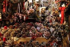Jul jul mässa, gåvor, nytt år Royaltyfri Fotografi