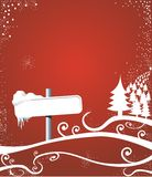 jul långt Arkivbilder