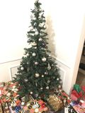 jul little SAD tree Royaltyfria Bilder