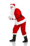 jul lyckliga santa Fotografering för Bildbyråer