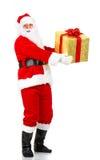 jul lyckliga santa royaltyfria bilder