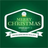 Jul märker och förser med märke vektordesign Garneringbeståndsdelar Arkivbild