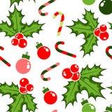 Jul mönstrar för rolig ferie Arkivfoto