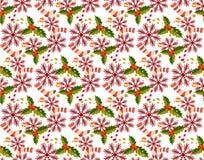 Jul mönstrar sömlösa vektorer royaltyfri foto