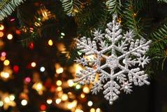 Jul med julgranen Royaltyfria Foton