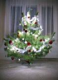 jul min version för portföljtreevektor Royaltyfri Bild