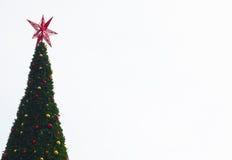 jul min version för portföljtreevektor Arkivbild