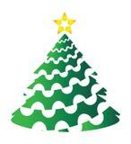 jul min version för portföljtreevektor stock illustrationer
