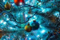 jul min version för portföljtreevektor Royaltyfria Bilder