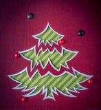 jul min version för portföljtreevektor Arkivfoton
