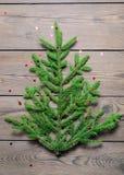 jul min version för portföljtreevektor Begrepp Arkivfoto