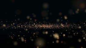 jul min version för portföljtreevektor Härlig abstrakt bakgrund stock video
