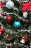 jul min version för portföljtreevektor nytt år Royaltyfria Bilder