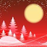 Jul och festligt rött tema för nytt år Royaltyfri Fotografi