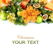 Jul och garneringar för nytt år Royaltyfri Foto