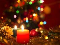 Jul och ljus Royaltyfria Foton