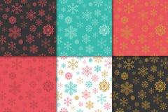 Jul och modelluppsättning för lyckligt nytt år Modell för vinterferie royaltyfri illustrationer