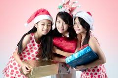 Jul och newyear arkivfoton