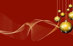 Jul och nytt år Stock Illustrationer