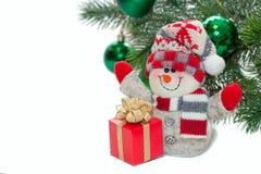 Jul och nytt år Arkivbilder